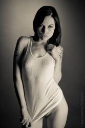 T-Shirt Tease I by BrianMPhotography