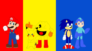 Red, Yellow and Blue by Kitsune257