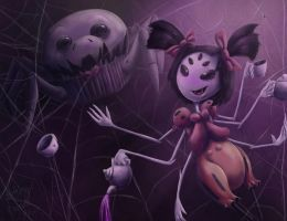 Muffet by MeltingDragon