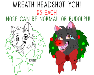 [MULTISLOT WREATH YCH] OPEN by Krissi2197