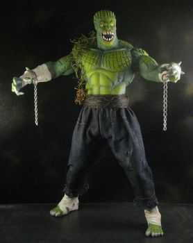 Killer Croc 1/6 front by darkeyes212