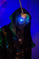 Hivemind V.2.9 dystopian LED goggles by TwoHornsUnited