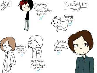 Ryu's Family - 4th Doodles by MoonlightWolf17