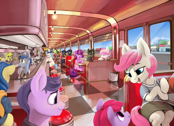The Sock Hop by DimFann