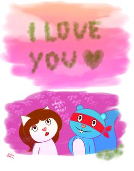 even my farts love you by Karen-Donna