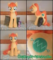 38in Millie Volt OC plush by qtpony