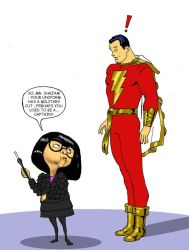 TLIID - The Incredibles' Edna Mode and Shazam by Nick-Perks