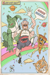 UNCLE GRANDPA by paintmarvels