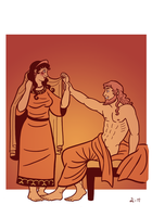 Zeus and Hera by A-gnosis