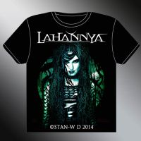 LAHANNYA - Sojourn T-Shirt Model unreleased by stan-w-d