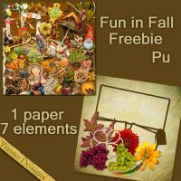 Fun in Fall Freebie by VianneScraps
