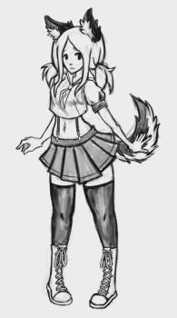 WolfGirl Mieke by Chame