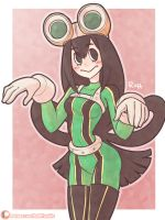 Tsuyu Asui (Froppy) by Ruff-Sketches