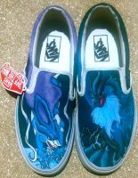 Suicune and Articuno Shoes