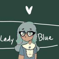 Lady Blue~ |Art trade by 0LizziethePuppeteer0