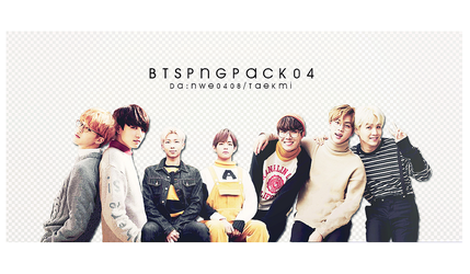 23 / BTS PNG PACK 04 by NWE0408
