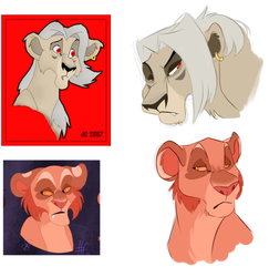 Vamp Lions by Crescent-Mond