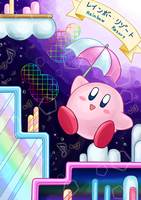 Rainbow Resort - KIRBY'S ADVENTURE by NagiSpider