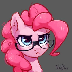 Serious Pinkie by INowISeeI