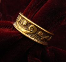 Carved Ring Number 1 by TallGuyKen