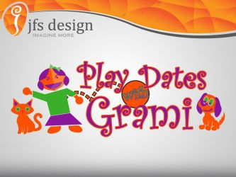 Play Dates with Grami - logo by JFS-Design