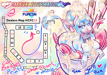 HCFC 2018 Table Location! by carnival