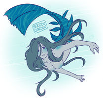 A voice in the reef (MerMay17, 10) by chibinevercry