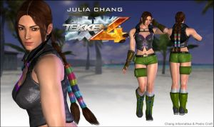 Julia Chang Tekken 4 v.2 - XPS DOWNLOAD by Pedro-Croft