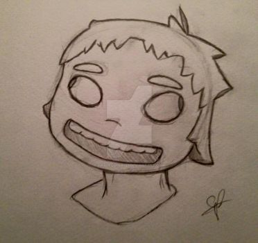 The Melting Mouth Boy (clean) by Harlequinn133