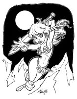 Red Sonja_Bancroft by tombancroft