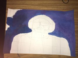Cubism Portrait  by traacyymarie
