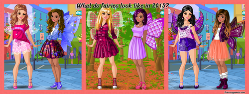 Modern Fairies Dress Up Game by DressUpGamescom
