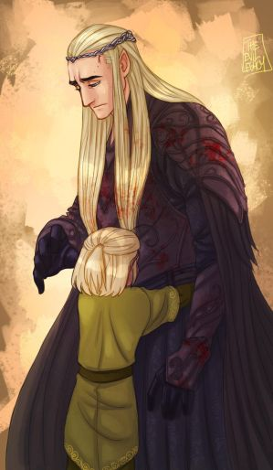 LOTR - Tears by the-evil-legacy