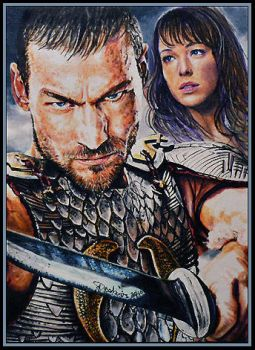 Spartacus : Blood and Sand by DavidDeb
