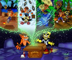 Happy 20th Anniversary Crash Bandicoot! by Nl-Rad
