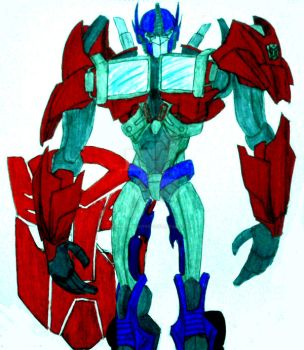 Leader of the Autobots by InkArtWriter