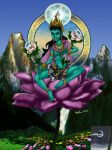 Green Tara by TheSorceressRaven