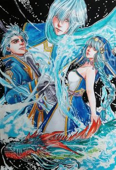 The Guardians of Olderion - FFBE Fanart by gabi-raposa