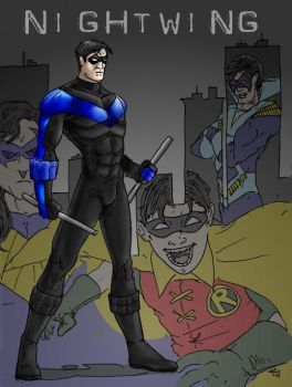 Nightwing by RamonVillalobos