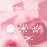 Christmas SnowFlakes -Brushes- by iSmileLikeMe