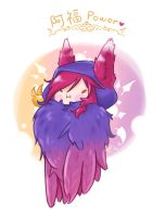 LOL-Xayah by SIROKAMINEKO