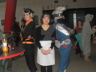 Eirtakon Obito, Rin and Kakashi by LilNekoKatz