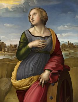 Study of Raphael's Catherine by goktugg