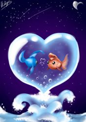 Only One Fish Can Enter Your Heart by Meepstro