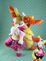Contest Outfit for Official Braixen Plush