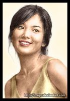 colored 3rd Song Hye Kyo by imuya