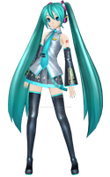 [PDF2nd] .:Hatsune Miku Default:. by PiettraMarinetta