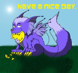 Have a nice day by Dragon-Furry