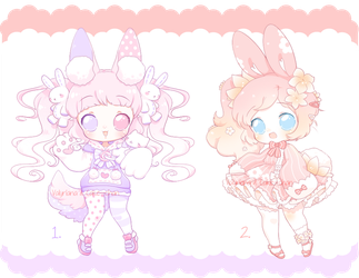 Collab Adopts with Valyriana [OPEN] by CakexChan