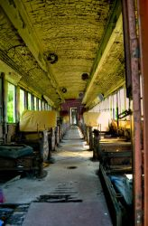 Abandoned Trolley, Kingston by peccata